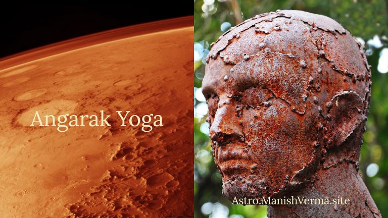 Angarak Yoga ~ Mars-Rahu Conjunction
