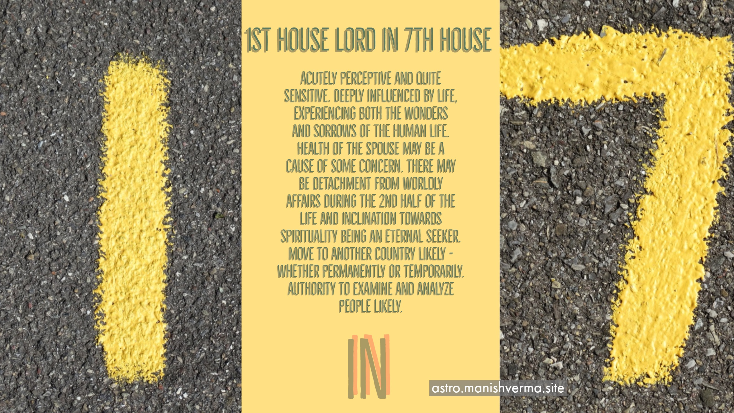 10th and 11th lord in 7th house